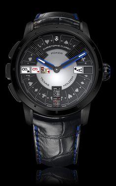 Christophe Claret #Poker is een uitzonderlijke automaat horloge. #gokkastenonline