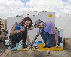 graffiti / streetart / Fuerteventura, Puerto del Rosario / Spray