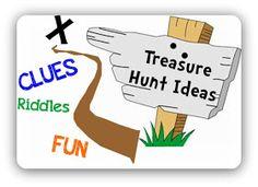 Real Treasure Hunts: Cryptic Treasures: Treasure Hunt Clues For Around The House