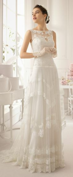 Aire Barcelona 2015 Bridal Collection – Part 2 – Belle the Magazine. The Weddin … Aire Barcelona 2015 Bridal Collection – Del 2 – Belle Magazine. 2015 Wedding Dresses, Bridal Dresses, Wedding Gowns, Wedding Blog, Lace Wedding, Lace Bride, Backless Wedding, Wedding Ideas, Wedding Pictures
