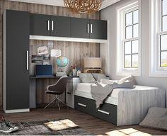 Mejores 173 Imagenes De Dormitorios Juveniles Modernos En Pinterest - Decoracion-dormitorios-juveniles-modernos