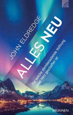 """""""Alles neu"""": John Eldredge sagt: Unser Herz sehnt sich nach einer unumstösslichen Hoffnung, die durch alles hindurchträgt. Genau solch eine Hoffnung gibt Gott uns in seinem Wort: Am Ende der Zeiten wird er alles erneuern, was wir jetzt schon lieben - nicht in einem ungewissen, süsslichen Himmel, sondern genau hier auf der Erde. Noch mehr neue Bücher im www.fontis-shop.ch Faith, Reading, The Gospel, New Books, God, Earth, Heavens, Autumn"""