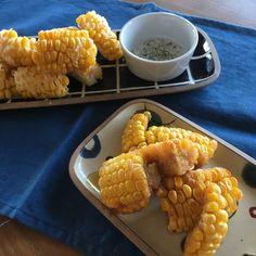 ツイッターで2万RT!とうもろこしのからあげが病みつきの美味しさ♡ Potluck Dishes, Veggie Dishes, Vegetable Recipes, Fun Cooking, Cooking Recipes, Birthday Menu, Cafe Food, Asian, Japanese Food