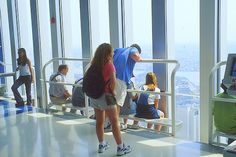 World Trade Center, 1970-2001: Checking Out the Views