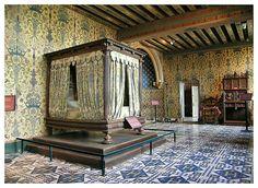 Château de Blois ~ Loire Valley ~ France ~ King Henri III's Bedroom.