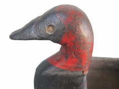 Cast Iron Advertising Duck | From a unique collection of antique and modern more folk art at https://www.1stdibs.com/furniture/folk-art/more-folk-art/