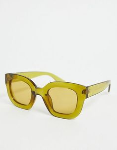 dd77524b2067 ASOS DESIGN chunky cat eye sunglasses Holiday Wardrobe