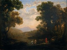 Cave to Canvas, Claude Lorrain, Fording a River, c. 1636 From the...