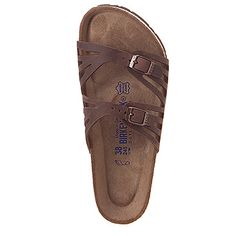 Women's | Birkenstock Granada Soft Footbed - Habana Leather - FREE SHIPPING at Shoes.com