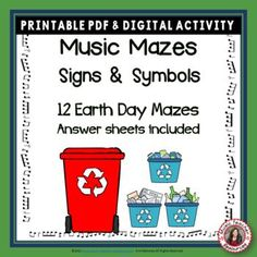 Music Signs and Symbols Music Mazes It comes in PDF printable and digital format! This file contains ♫ TWELVE music maze puzzles based on music signs and symbols. ♫ TWELVE answer sheets, making the mazes excellent for self-correcting worksheets/centers/homework etc. ♫ TWELVE TpT Easel digital pages. Students can now complete the worksheets digitally. ♫ ♫ #mtr #musicteacher #musiced #musiceducation Music Teacher Resources
