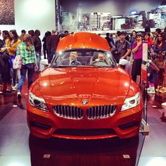 2014 BMW Z4 Roadster at the 2013 New York International Auto Show (I could do this color)