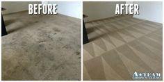 This before and after looks like a different carpet!