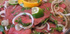 Recetas para marinar y sazonar carne para asar.