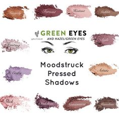 Here are the best shades of Younique's new Moodstruck Pressed Shadows to go with blue eyes. Eyeliner Brown Eyes, Hazel Brown Eyes, Brown Eyeshadow, Eyeshadow Looks, Eyeliner Nero, Younique Mascara, Mascara Tips, Splurge Cream Shadow, Graphic Eyeliner