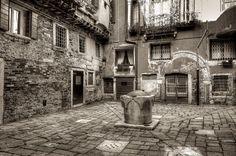 Secret Courtyard - Venice