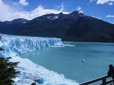 Glacier, Tierra Del Fuego at the Southern tip of South America