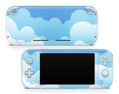 Nintendo Lite, Nintendo Switch Games, Gamer Setup, Gaming Room Setup, Vinyl Scratch, Nintendo Switch Accessories, Nes Classic, Blue Clouds, Game Controller