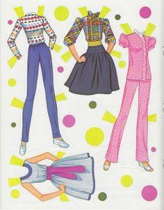 Barbie Angel Face Paperdoll
