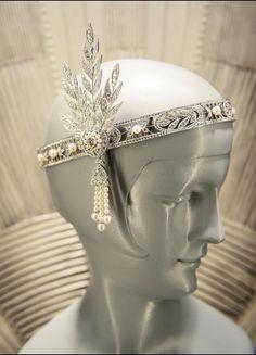 Tiffany & Co. headband for The Great Gatsby