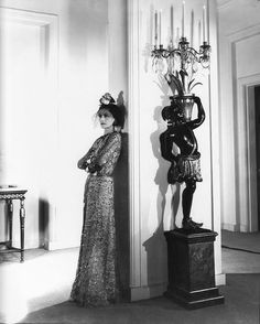 Coco Chanel photographed by Cecil Beaton, 1937