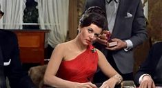 Sylvia Trench (Eunice Gayson) in Dr. No (1962)