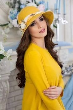 Hats For Women, Yellow, Beauty, Beautiful, Rainbow, Touch, Happy, Fashion, Pictures
