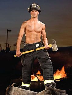 i'm the kind of girl that will be flirting with the firemen while a building is burning down,,,especially if it was him! <3