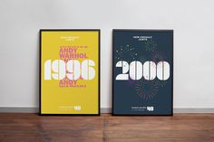 Branding and posters for Fundació Miró's 40th Anniversary by graphic design studio Mucho