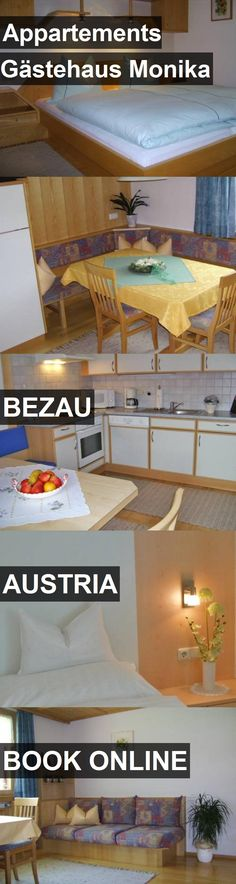 Hotel Appartements Gästehaus Monika in Bezau, Austria. For more information, photos, reviews and best prices please follow the link. #Austria #Bezau #AppartementsGästehausMonika #hotel #travel #vacation
