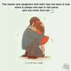 So sweet..so true..so lucky to have a wonderful father to my girls. Im lucky to have had a loving father who was taken from this Earth to young. And a loving Stepfather who always treated me as his own! God is good<3