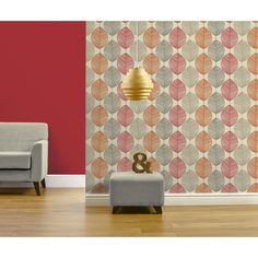 Arthouse Dante Stripe Wallpaper - Red | Products, Stripes and