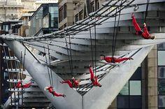 Daredevil dance in London