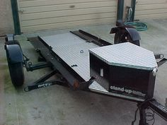 Kendon Tilt-up 2 bike Motorcycle Trailer w/pics - Pirate4x4.Com : 4x4 and Off-Road Forum