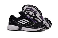detailed pictures 056c8 d95e8 Black Running Shoes, Adidas Women, Purple, Shoe Sale, Free Shipping, Nike  Shoes, Pjs, Black White, Feather