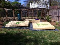 Backyard yoga platforms - love gazing up at the trees!: