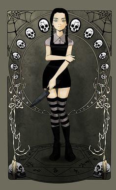 Wednesday Addams by zeymar on deviantART