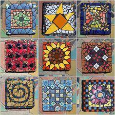 Riser tiles | Make Mine Mosaic