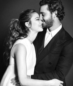 """duchessofostergotlands: """"Beatrice Borromeo and Pierre Casiraghi have posed for a beautiful photograph for L'uomo Vogue, August 2017 """""""