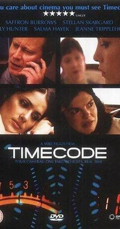 Directed by Mike Figgis.  With Jeanne Tripplehorn, Stellan Skarsgård, Salma Hayek, Xander Berkeley. Four frames of simultaneous action that alternately follow a smitten lesbian lover as she obsesses over her partner's dalliances and the tense goings-on of a Hollywood film production company.