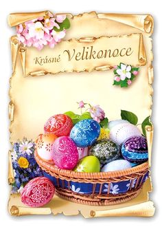 Krásné Velikonoce Happy Easter, Easter Eggs, Happy Easter Day