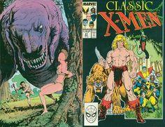 Classic X-Men # 21 by Arthur Adams & Terry Austin/ John Bolton