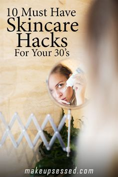 Tips for Skincare in your 30's. Thirty is a great time to take care of your skin and keep feeling and looking healthy. Check out these must have skincare hacks for women in their 30's. #skincare #30s #beauty #makeup #EverydayBeautyRoutine Diy Skin Care, Skin Care Tips, Skin Tips, Anti Aging Skin Care, Natural Skin Care, Natural Face, Hair Removal, Oxygen Facial, Korean Beauty Routine
