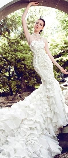 couture wedding gown #provestra jaglady