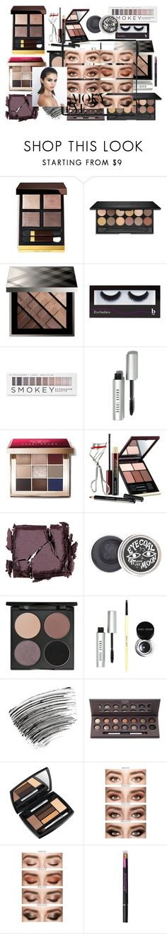 """""""Smoky Eye Here I Come"""" by fashionpolyvore112num2 ❤ liked on Polyvore featuring beauty, Tom Ford, Burberry, BBrowBar, Forever 21, Bobbi Brown Cosmetics, Kevyn Aucoin, Surratt, Gorgeous Cosmetics and Laura Geller"""