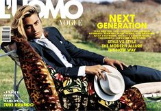 Brando's grandson was born into hardship and has risen to stardom. Check out Bruce Weber's photos of the young Brando from the 2007 L'Uomo Vogue cover that launched his modeling career. Tuki Brando, Marlon Brando, Tahiti Nui, Bruce Weber, Vogue Covers, Good Looking Men, Cut And Color, Hot Guys, Hot Men