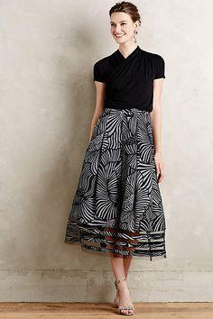 Nightblossom Midi Skirt - anthropologie.com.  Easily dressed up or down