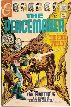 SILVER AGE 1967 THE PEACEMAKER #5 CHARLTON COMICS