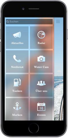 Mobile Marketing - Genau die richtigen Funktionen in der App für  Boot Handel, Surf, Segel und Wassersport http://nextvisionapps.com/de/online-demo-boot