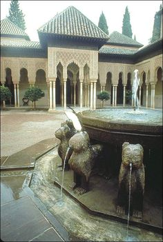 Alhambra Palace, Lion's Court