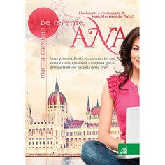 Livro - De Repente, Ana.